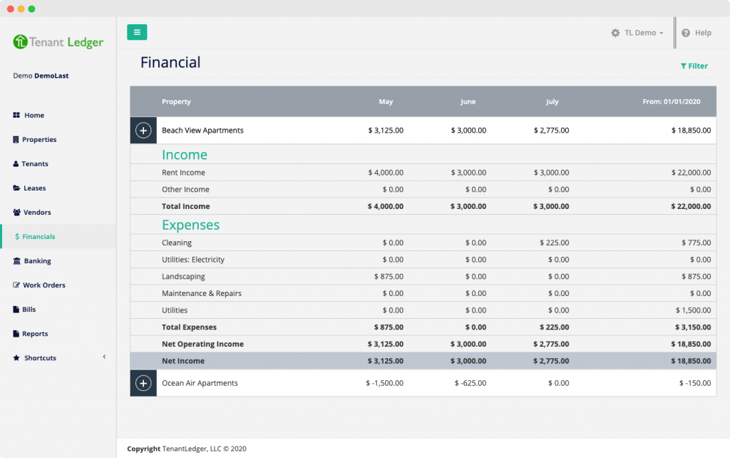 Property Management Software Accounting